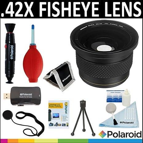Polaroid Studio Serie, 42 x HD lente de ojo de pez + limpiar y Kit de
