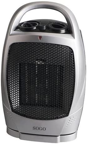 Sogo CAL-SS-18330 Calefactor PTC con ventilador función oscilación ...