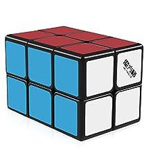 D-FantiX MoFangGe 2x2x3 Speed Cube 223 Magic Cube Puzzle for Kids (Black)