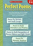 Perfect Poems with Strategies for Building Fluency, Scholastic, Inc. Staff, 0439438314