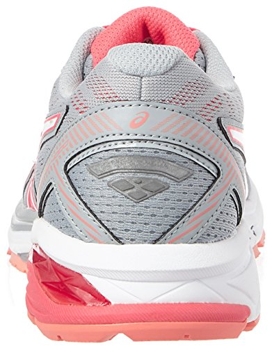 Pink Midgrey Running White Asics Diva Gt Women's 1000 9601 Shoes Grey 5 qwRvBxw7