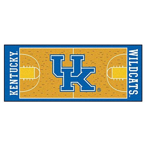 Fanmats Team Support Sports Carpet Decorative Accessories Logo Printed Kentucky Basketball Court Runner 30