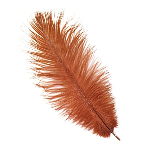 - Zucker Feather (TM) - Ostrich Feathers-Drabs Selected - Copper