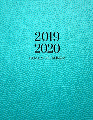 2019 2020 Turquoise Style 15 Months Daily Planner: Academic Hourly Organizer In 15 Minute Interval; Appointment Calendar With Address Book & Note Section; Monthly & Weekly Goals Journal With ()