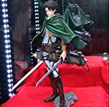 Attack On Titans Action Figure Levi Ackerman PVC 260mm DXF Attack On Titan Action Figure Shingeki No Kyojin Figurine