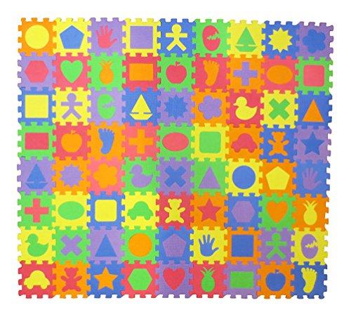 Unique Shapes Educational Puzzle Squares