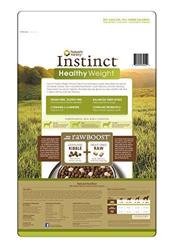 Nature S Variety Instinct Grain Free Chicken Meal Formula Kibble