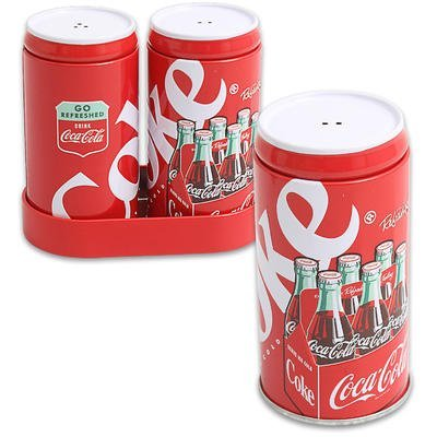 Coca Cola Salt Pepper Shaker