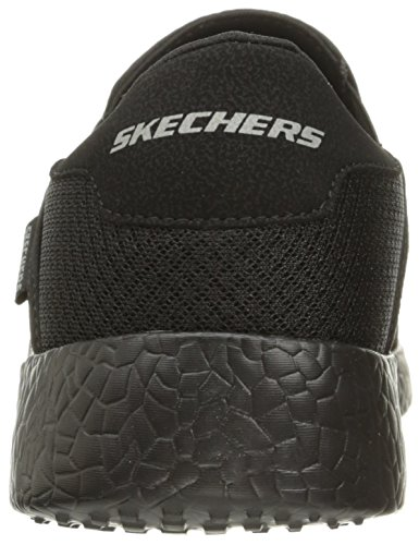 Skechers Sports Menns Briste Akkurat I Tide Sneaker Svart