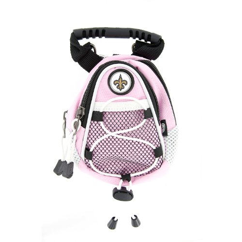 NFL New Orleans Saints Pink Mini Day Pack, Outdoor Stuffs