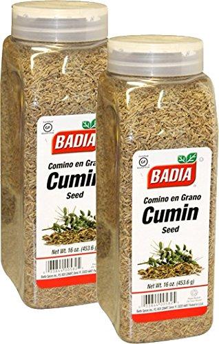 Badia Cumin Seed Whole 16 oz Pack of 2