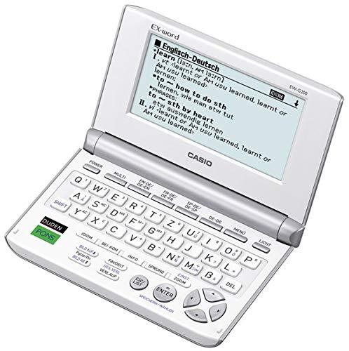 affordable CASIO EX-word EW-G200