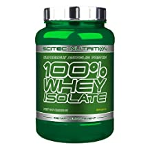 Scitec Nutrition 100% Isolate Whey Protein Shake - 2000g, Banana by Scitec Nutrition