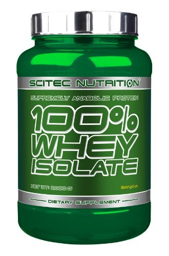 Scitec Nutrition 100% Isolate Whey Protein Shake - 2000g, Banana by Scitec (2000 Protein)