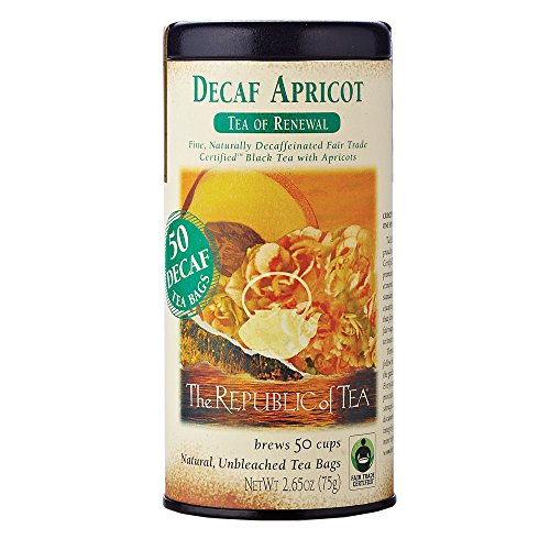 The Republic of Tea, Apricot Decaf Tea, 50 Count from The Republic of Tea