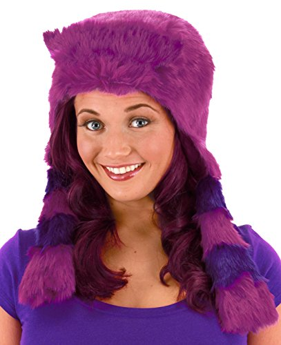 elope Women's Monsters University Deluxe Art Hoodie, Purple, One (Art Monsters University Halloween Costume)