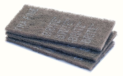 Tools4Boards BRITE Abrasive Nylon Fiber Pad for Skis and Snowboards (3-Piece)