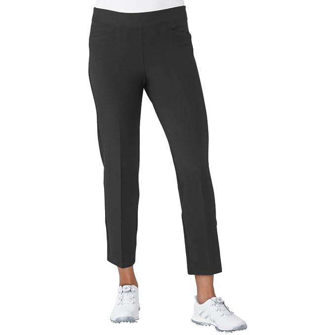 adidas Golf Women's Ultimate Adistar Ankle Pants, Black, Large best women's golf pants