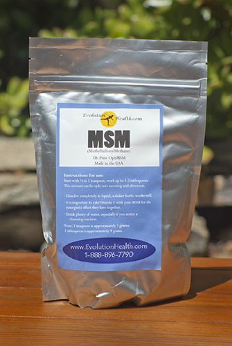 100% Pure MSM Powder: 1 Lb