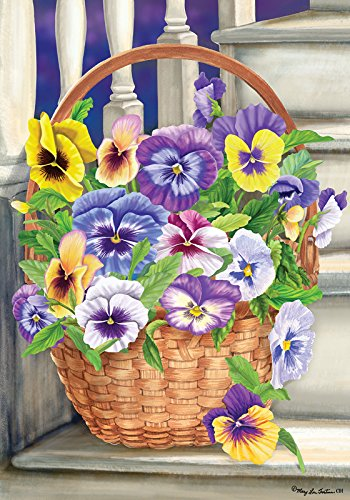 Custom Decor Pansy Steps
