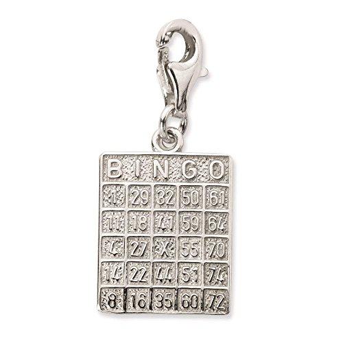 925 Sterling Silver Bingo...