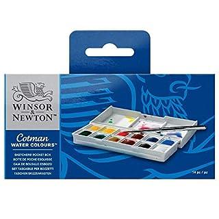 Winsor & Newton Cotman Water Colour Sketchers Pocket Box (B00004THXI) | Amazon price tracker / tracking, Amazon price history charts, Amazon price watches, Amazon price drop alerts