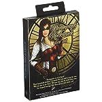 Q WORKSHOP Steampunk Clockwork Black & White Dice Set (7) Board Games 7