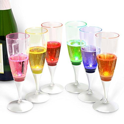Led Light Champagne Glasses in Florida - 5
