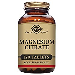 Solgar - Magnesium Citrate, 120 Tablets