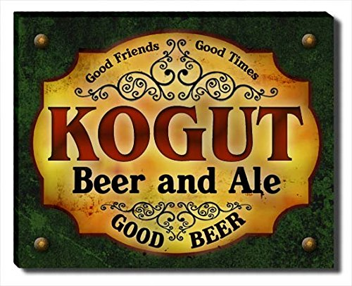 ZuWEE Kogut Family Beer and Ale Gallery Wrapped Canvas Print