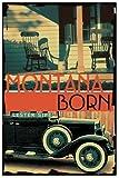 Montana Born, Lester Sipe, 0595301509