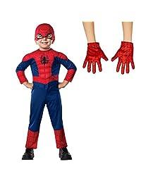 Ultimate Spider-Man T (2/4) Costume Bundle Set