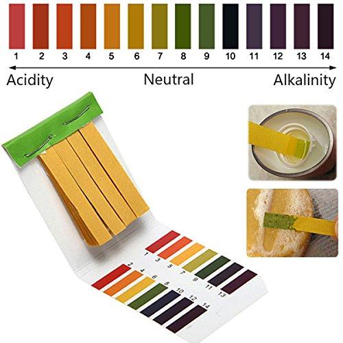 Bazaar 1-14 PH Alkaline Acid Test Paper Water Litmus Testing Kit Big Bazaar