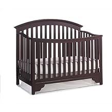 Delta Children 7026-607 Sonoma 4-in-1 Convertible Crib, Black Cherry Espresso