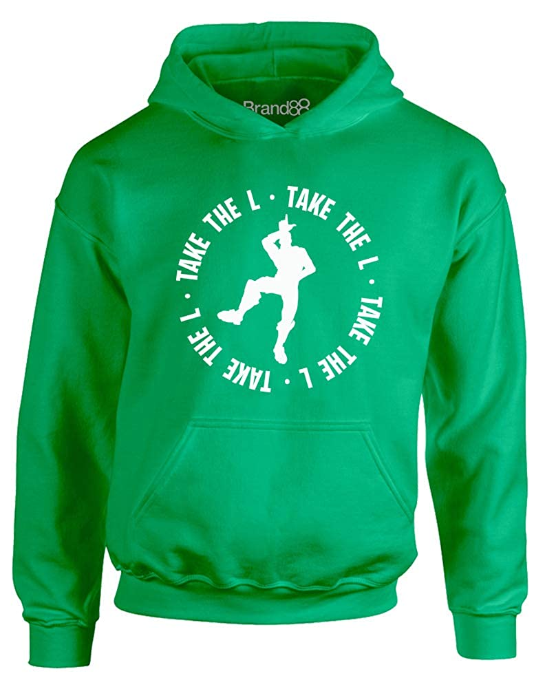 Brand88 - Take The L, Kids Hoodie JH01J_CI017