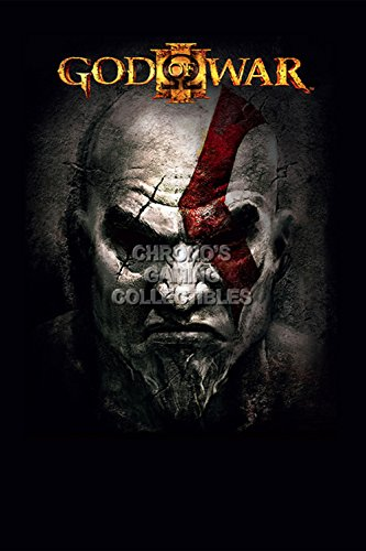 God of War CGC Huge Poster Glossy Finish III Kratos Sony PS2 PS3 PS4 PSP Vita - GOW019 (24
