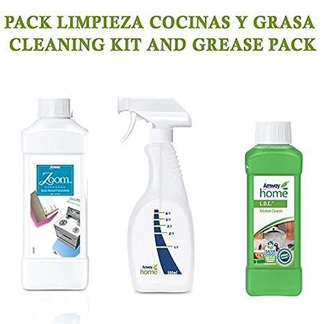 PACK LIMPIEZA COCINAS Y GRASA CONCENTRADO BIODEGRADABLE