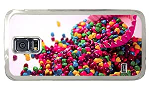 Hipster Samsung Galaxy S5 Case cute Colored Goodies PC Transparent for Samsung S5