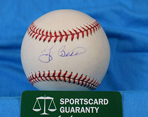 Yogi Berra Hand Signed - 2