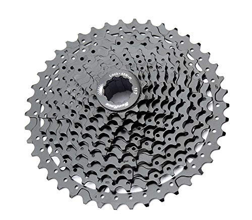 Sunrace 10-speed cassette CSMS3 wide ratio MTB (ED Black, 11-40T)
