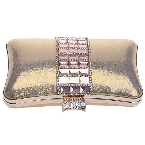 Sac Sac Femmes Gold Mariage Soirée Bandouliere Fête Bal Bourse Clutch Chaîne Maquillage Pochette Main pour à dZ1wxq10