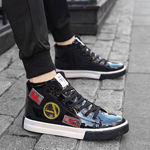 Basse de Chaussure Casuel Mode Confort Basket Antichoc Chaussure Running Entraînement Haute pour sport 46 sneakers de Homme Noir 39 w4ngqZR