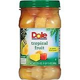 Dole Tropical Fruit in 100% Juice, 23.5 Ounce Jar