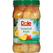 Dole Tropical Fruit in 100% Juice, 23.5 Ounce Jar