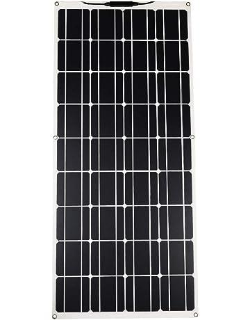 15W DC5V 18V Monokristallin Dual USB Solarpanel Solarmodul Zelle Camping  1