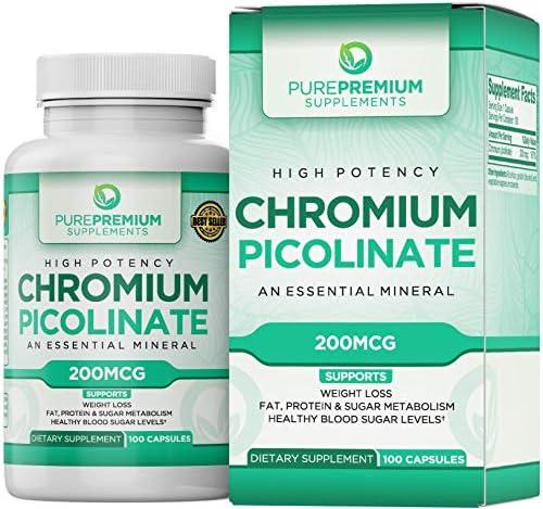 Picolinate Supplement PurePremium Supplements Carbohydrate