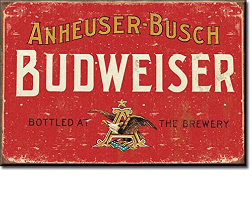 BUDWEISER BEER BY ANHEUSER-BUSCH BOTTLED AT THE BREWERY 2