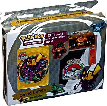 Amazon.com: 2011 tarjeta de Pokemon campeonatos del mundo ...