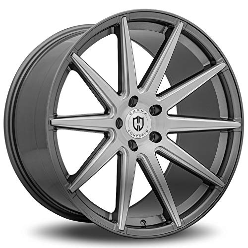 Curva Concept Wheels C49: 20x9.0, 5x114.3, 73.1, 35, (GM-Brushed+Milled)