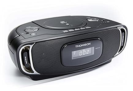 Thomson RCD 400 Radio/Radio-réveil Lecteur CD MP3 Port USB